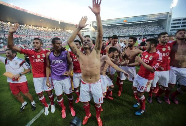 Benfica has now become two times portuguese champion! PROUD!