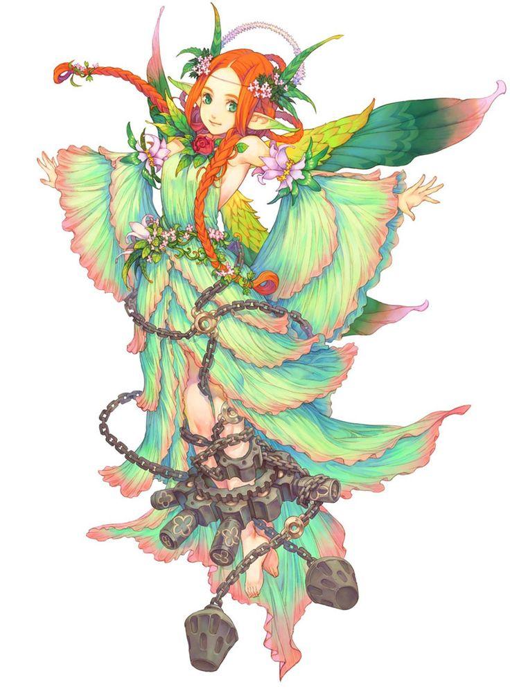 Mieli - Characters & Art - Avalon Code