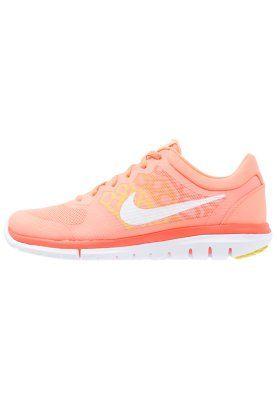 FLEX RUN 2015 - Obuwie do biegania Lekkość - atomic pink/white/hyper orange/optic yellow