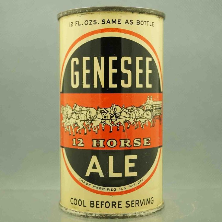 Genesee 12 Horse Ale , Rochester, NY / 1940 's
