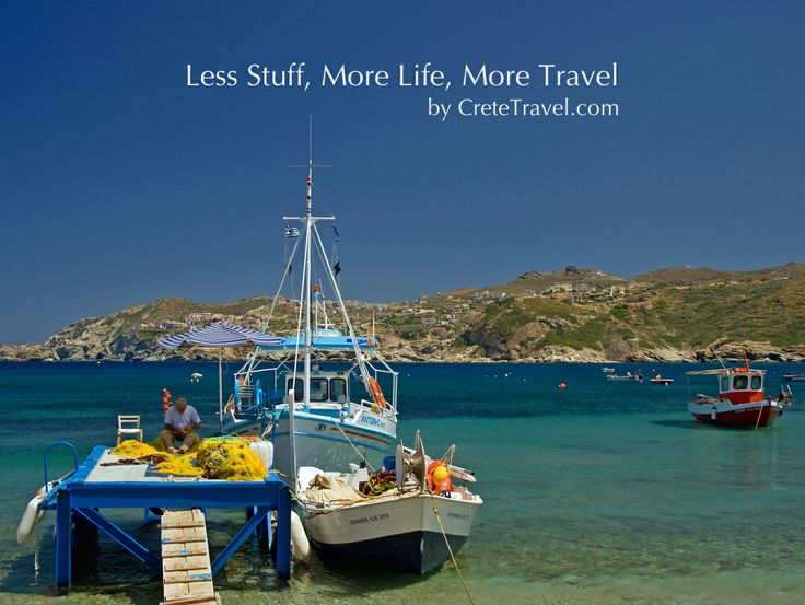 Less Stuff, More Life, More Travel  by www.cretetravel.com
