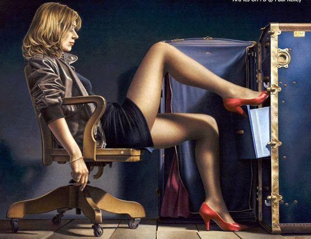 Le sensuali donne di Paul Kelley