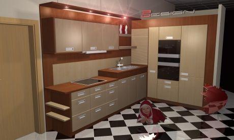 Návrhy kuchyní 4