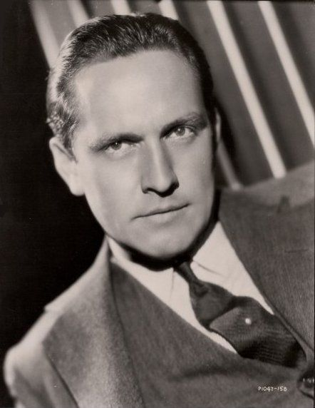 """Fredric March (1897 - 1975) Starred in """"Dr. Jekyll and Mr. Hyde"""" and """"The Best Years of Our Lives"""", starred as Willie Loman in the 1951 """"Death of a Salesman"""""""