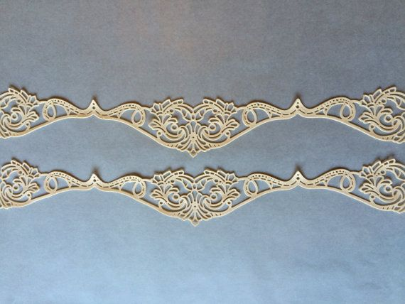 IVORY Cake Lace Edible Sugar Lace Gatsby  by TheFancyThings
