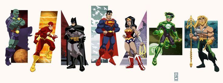 DC Universe Vol.1: JLA by ~alexmax on deviantART