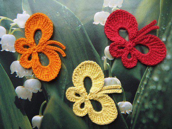 Lindas y decorativas mariposas