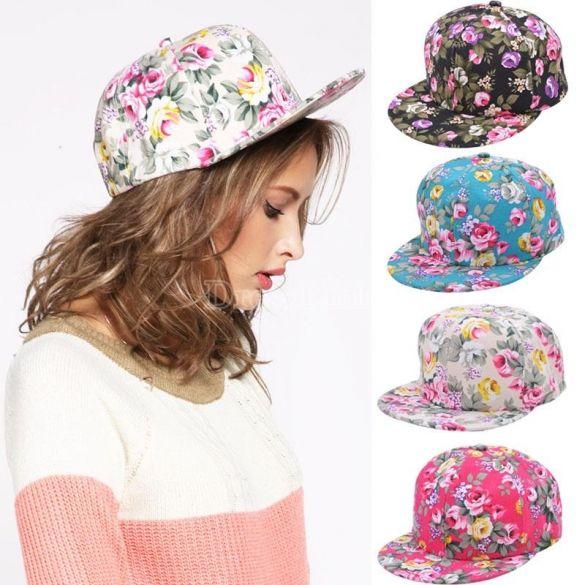 2014 nové květinové květinové Snapback nastavitelná namontována Pánské Dámské klobouky