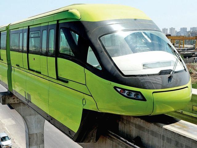 Slideshow : India's first mono-rail service all set to be launched - India's first mono-rail service all set to be launched   The Economic Times