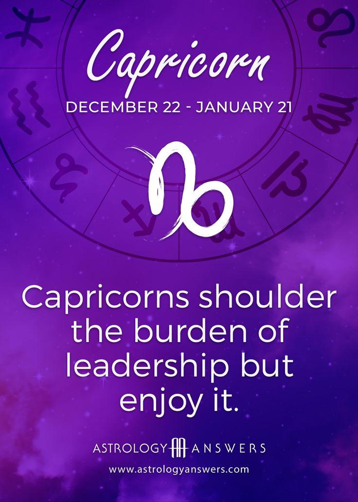 Capricorn Daily Horoscope Horoscope capricorn, Zodiac