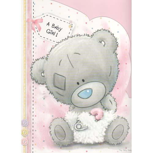 Baby Girl Me to You Bear Card (A92LD002) : Me to You Online - The Tatty Teddy Superstore.