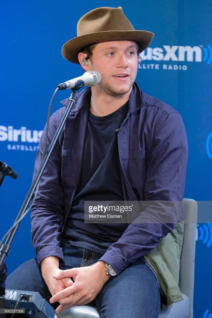 Musician Niall Horan Visits Hits 1 On Siriusxm Hits 1 Channel At