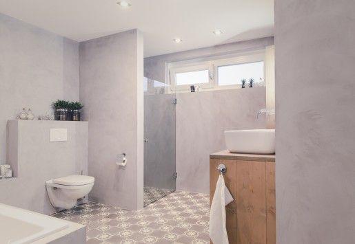 Beton Ciré badkamer, ontspannen in stijl - Beton-Ciré