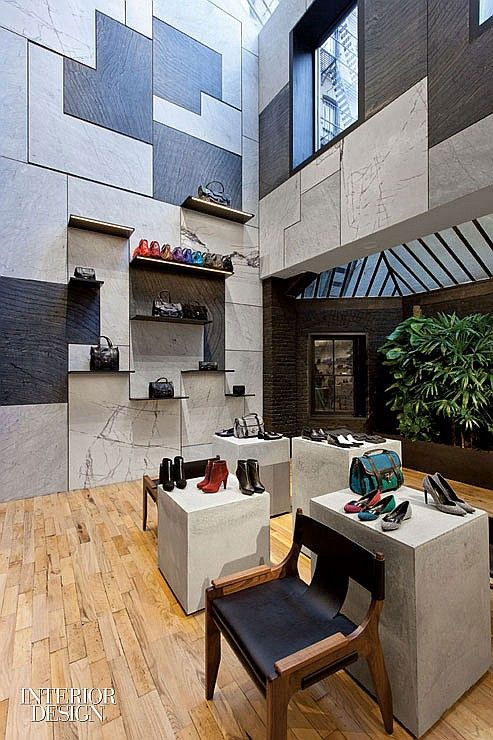 Interior Design Magazine David Adjaye Designs The New Proenza Schouler Flagship In SoHo