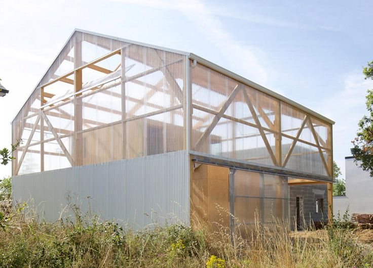 Does the bare-bones Maison D house take utilitarianism architecture too far?   Inhabitat - Sustainable Design Innovation, Eco Architecture, Green Building