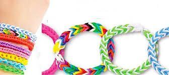 Armbanden in allerlei soorten en kleuren kan je maken met onze Loom bands