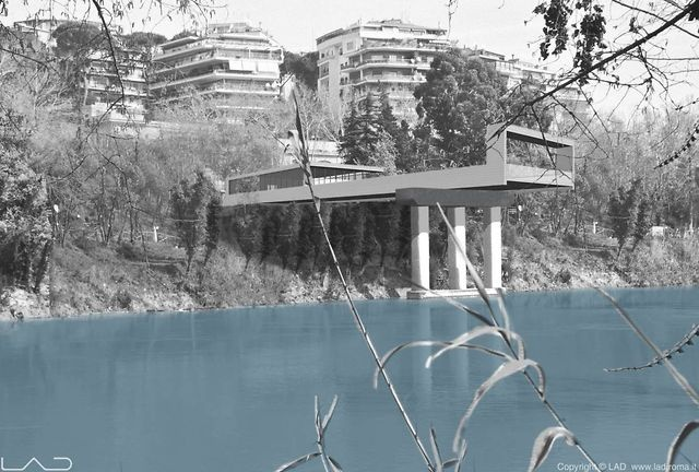 """This is our design proposal for recovering the bailay pylons in tor di quinto. This project won the first prize of the """"Premio vocazione Roma"""" on november 2011. Check out our website for more information and to join the  project! www.lad.roma.it"""
