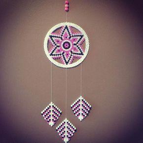 Dreamcatcher hama beads by nkptej