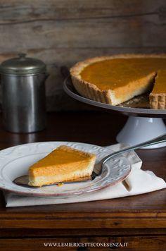 Pumpkin Pie con pasta frolla all'olio extravergine
