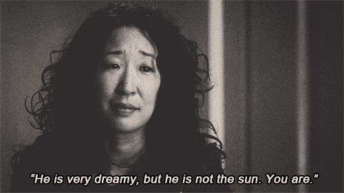 "51 Things You Probably Didn't Know About ""Grey's Anatomy"". This is really cool!! And I love this quote from Cristina, ""He's very dreamy. But he's not the sun. You are."""