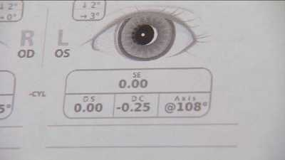 """Forget the old-fashioned eye chart. A portable device spots vision problems in babies and kids, giving parents and pediatricians a clear picture of eye health.    """"I'm going to take a picture of Annemarie's eyes. Keep looking right here.""""    Special optics capture light bouncing back from the eye, then software decodes the image."""