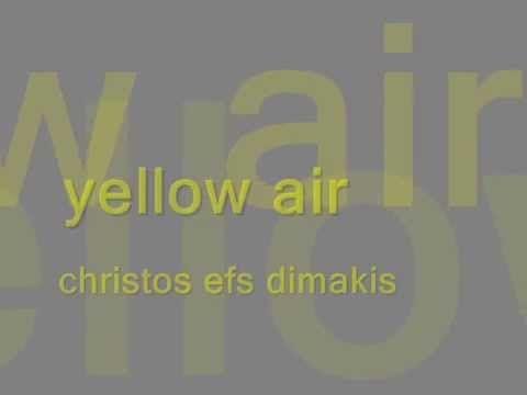 yellow air  christos efs dimakis