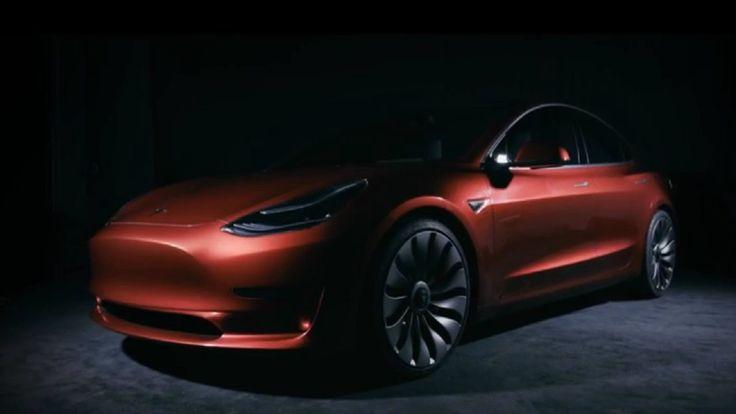 2018 Tesla Model 3 Reveal Video
