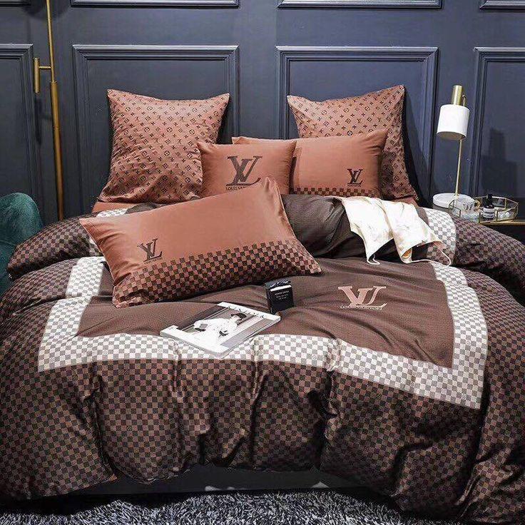 Louis Vuitton Custom 3( & s) 3D Customized Bedding Sets