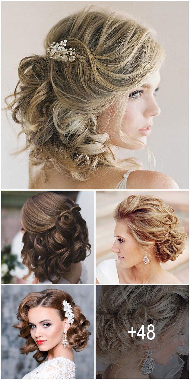 48 Trendiest Short Wedding Hairstyle Ideas Wedding Forward Short Wedding Hair Prom Hairstyles For Short Hair Hair Styles