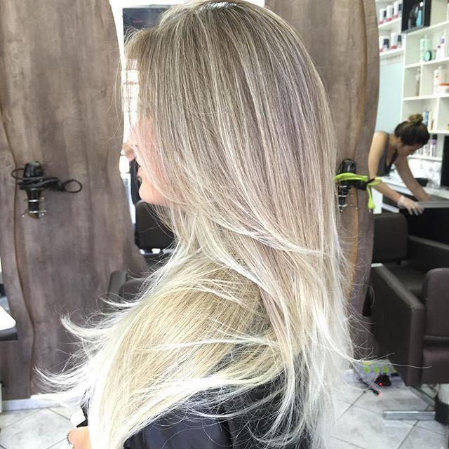 #vincenzodifrancohair #hospitaldasloiras #blond #mechas #luzes #loiras #ombre…