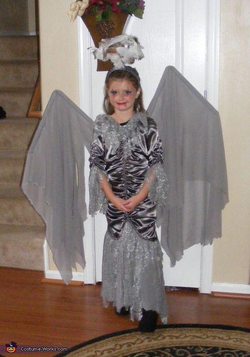 Homemade dark angel halloween costume-3335