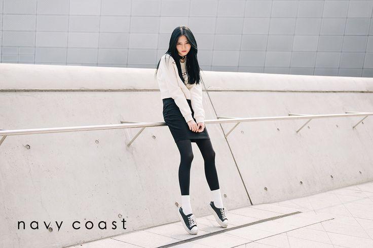 Navy Coast in  Seoul Fashion Week   Navy Coast 15F/W Crop Sweatshirts   www.navycoast.co.kr