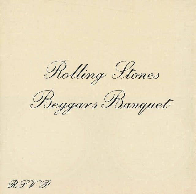 """""""Beggars Banquet"""",  Rolling Stones, 1968"""