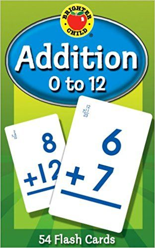 PDF DOWNLOAD Addition 0 to 12 (Brighter Child Flash Cards) Free