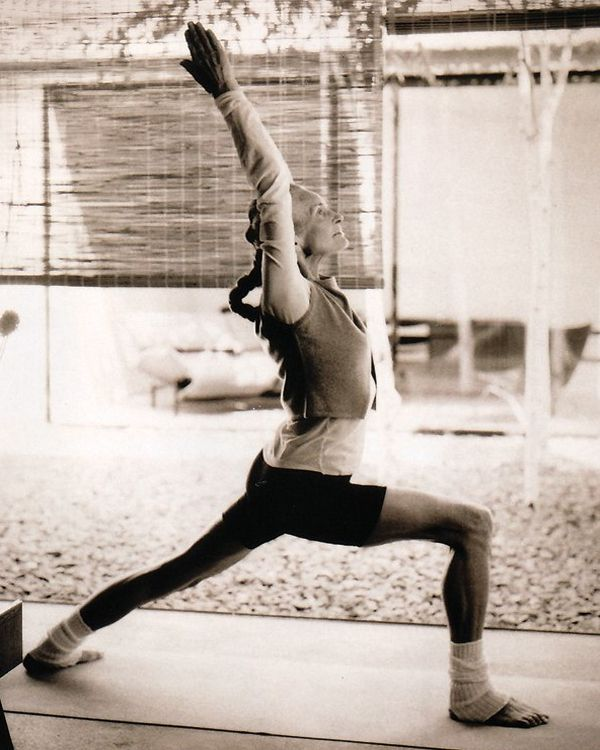 Daphne Selfe a Yoga Inspiration: Aged 86 The Worlds Oldest model.  #YogaAtAnyAge #YogaInspiration #SeniorYoga