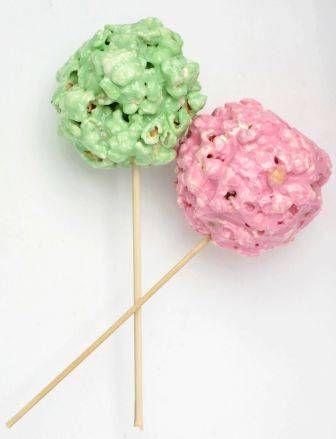 Gekleurde Popcorn-ballen Voor De Kids recept   Smulweb.nl