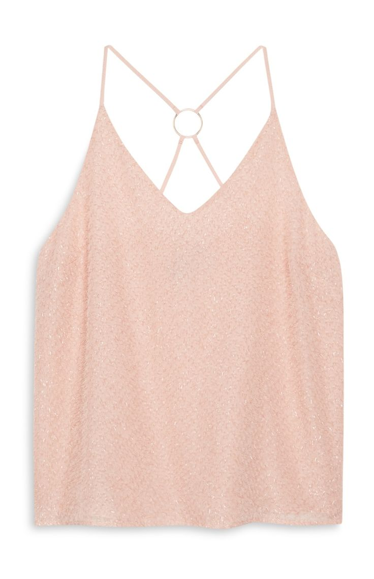 Primark - Pink Cami Top