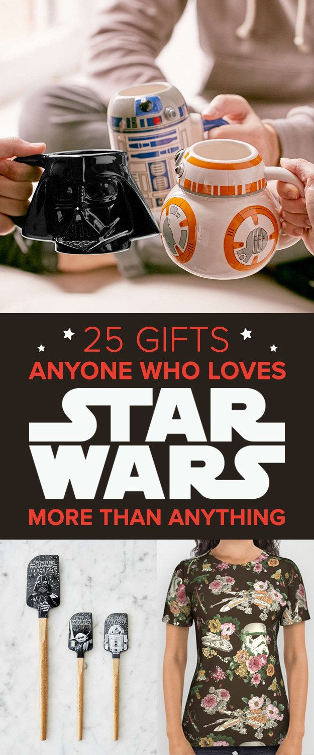"25 Gifts For Anyone Who Love ""Star Wars"" More Than Anything"