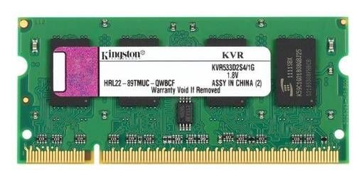 Refurbished Kingston ValueRAM 1 GB 200-Pin DDR2 533 (PC2 4200) Laptop Memory (KVR533D2S4/1G) for Free After Reba...