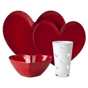 Valentine Dinnerware  sc 1 st  Pinterest & 131 best Heart plates images on Pinterest | Dishes Dinner plates ...