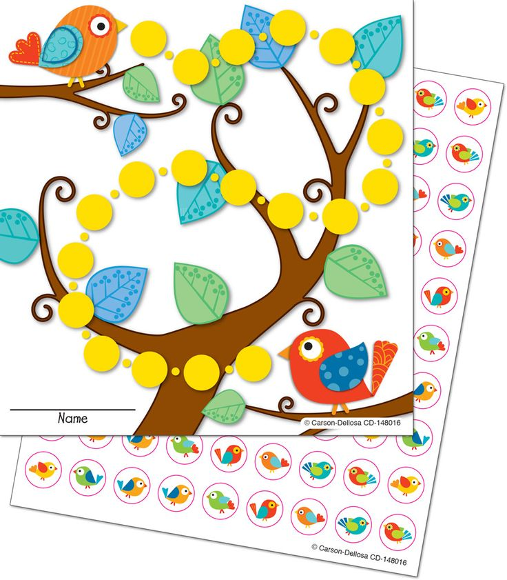 Classroom Decoration Charts For Kids : Best boho birds classroom decoration by carson dellosa