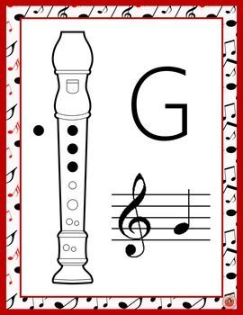 Recorder Fingering Charts!  Contains 41 posters/charts!  ♫ CLICK through to preview or save for later!  ♫