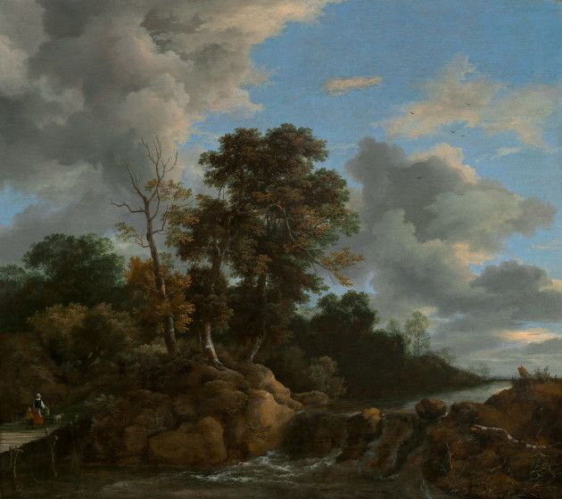 Ruisdael, Jacob van Dutch, c. 1628/1629 - 1682 Landscape c. 1670