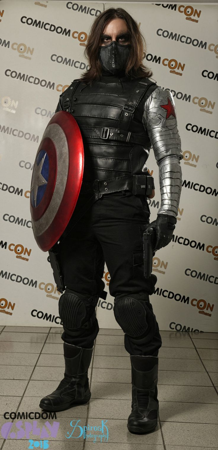 Winter Soldier (Soldado de Invierno) #Cosplays #Marvel