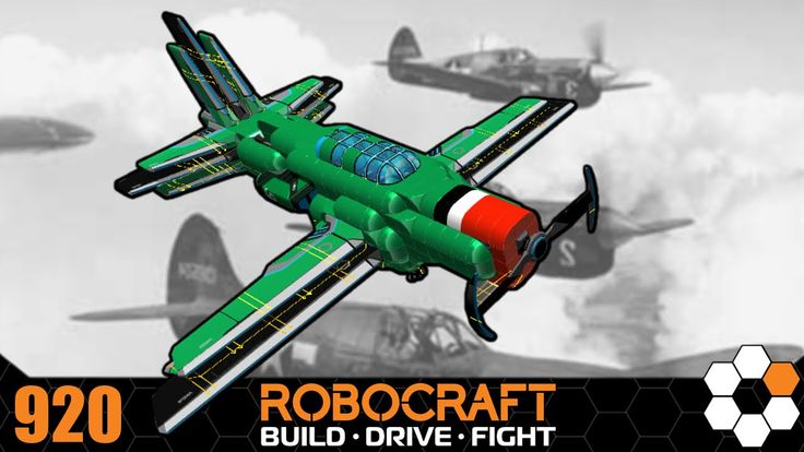 Robocraft - 'EPIC Plane' Build and Gameplay