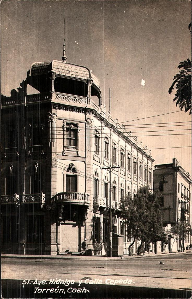 Ave. Hidalgo y Calle Cepeda; Torreón, Coah.