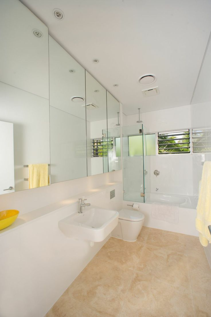 long narrow bathroom to give the look of space all white with a touch of beigenarrow bathroom floor tiles ideasidea