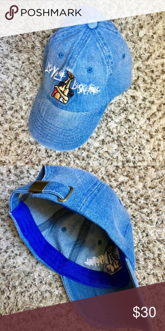 Love and basketball denim dad hat Brand new denim love and basketball dad hat Accessories Hats
