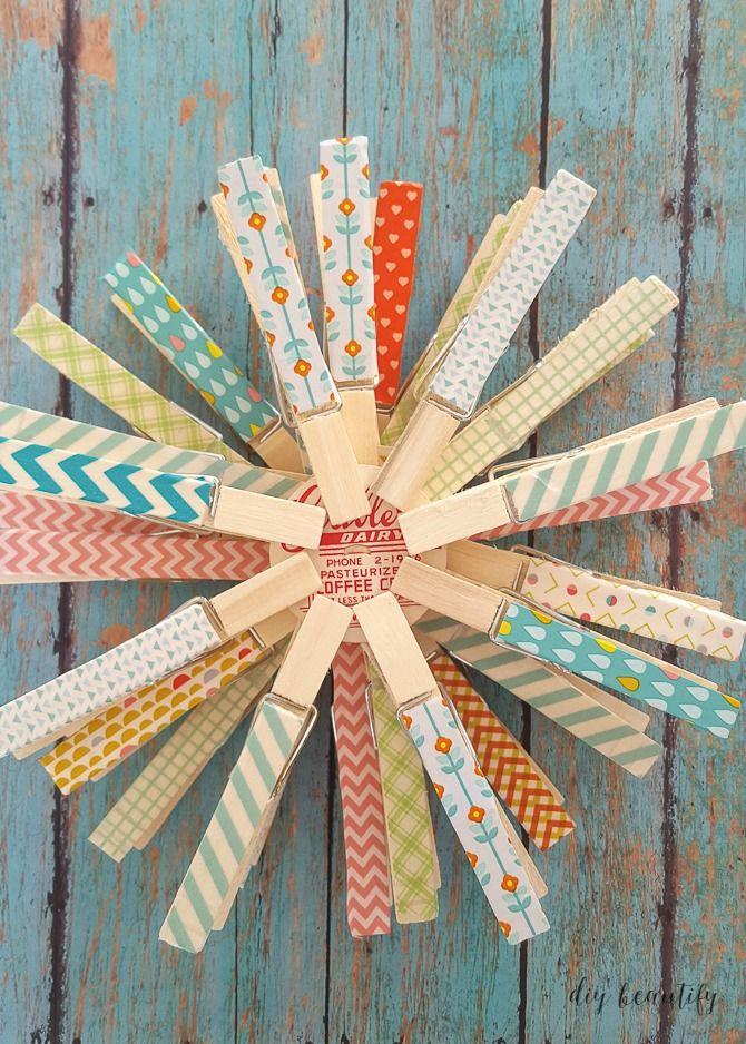 Washi Tape Snowflakes and a Giveaway! | Washi tape, Washi