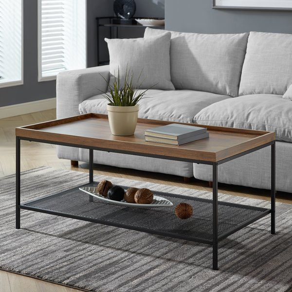 Improve The Look Of Your Living Room By Incorporating This Stylish Coffee Table It Will Update Your H Coffee Table Stylish Coffee Table Urban Industrial Decor